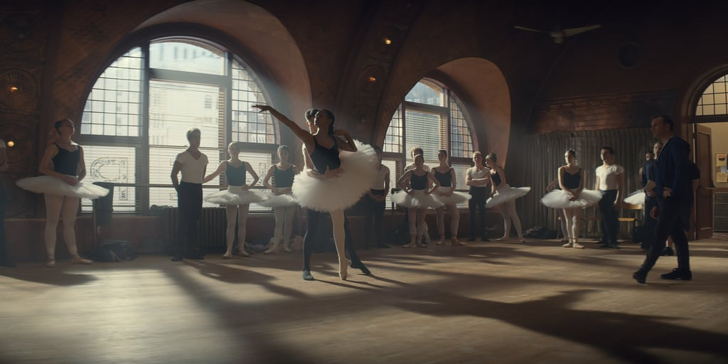 Als een prima ballerina
